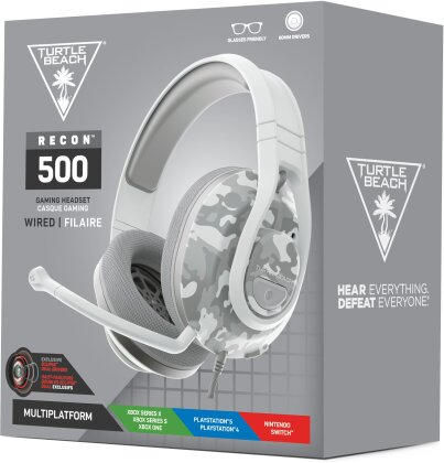 Turtle Beach Recon 500 Wired Headset - Arctic Camo