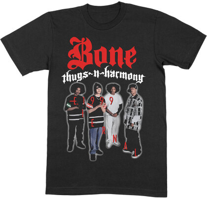 Bone Thugs-n-Harmony Unisex Tee - E. 1999