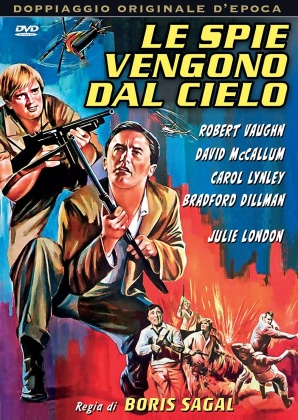 Le spie vengono dal cielo (1968) (Doppiaggio Originale D'epoca)