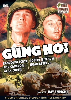 Gung Ho! (1943) (War Movies Collection, n/b)