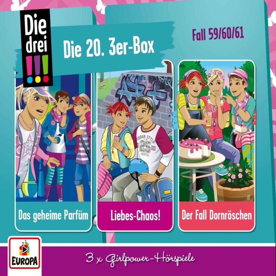 Die Drei !!! - Die 20. 3er Box (Folgen 59,60,61) (3 CDs)