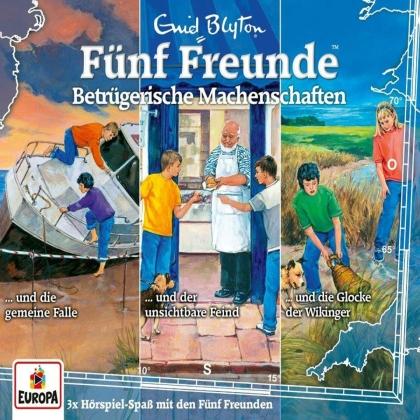 Fünf Freunde - 038/3er-Box-Betrügerische Machenschaften (Folgen 1 (3 CDs)