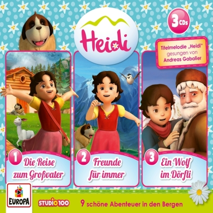 Heidi - Die 1. 3er Box (Fgolgen 1, 2, 3) (3 CDs)