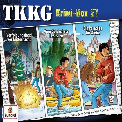 TKKG - Krimi-Box 27 (Folgen 199,201,202) (3 CDs)