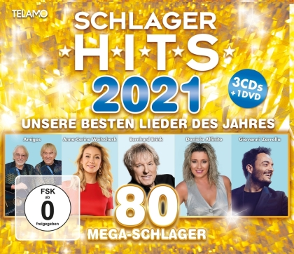 Schlager Hits 2021 (3 CDs + DVD)