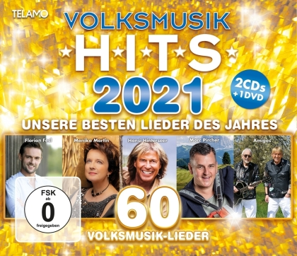 Volksmusik Hits 2021 (2 CD + DVD)