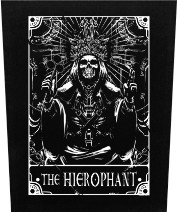 Deadly Tarot: The Hierophant - Back Patch