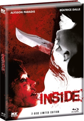 Inside (2007) (Wattiert, Cover 2, Edizione Limitata, Mediabook, Blu-ray + DVD)