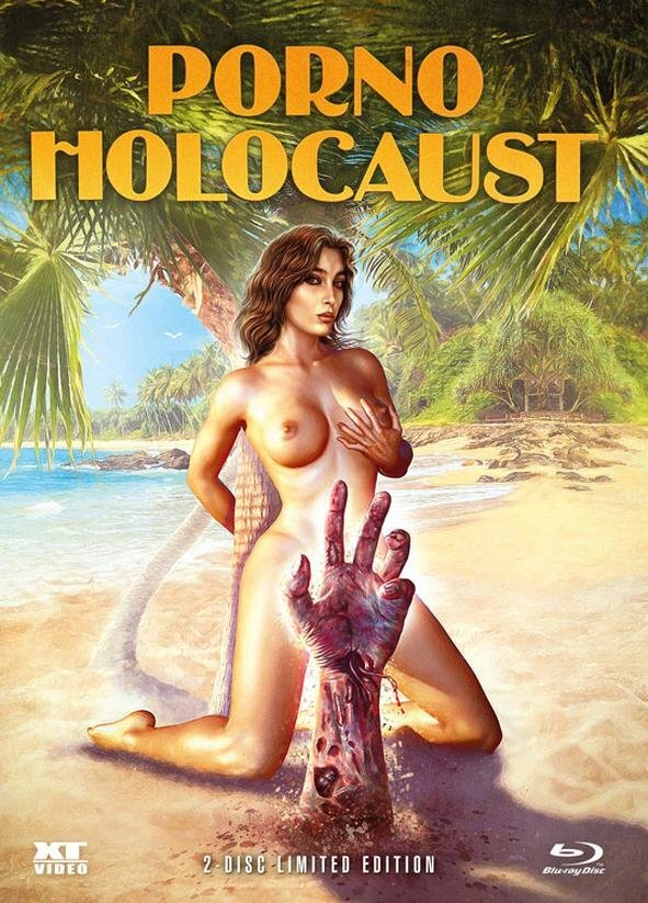 Porno Holocaust (1981) (Wattiert, Limited Edition, Mediabook, Blu-ray + DVD)