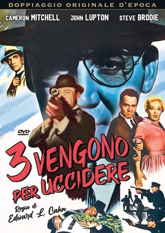 Tre vengono per uccidere (1960) (Doppiaggio Originale D'epoca, n/b)