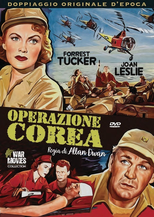 Operazione Corea (1953) (War Movies Collection, Doppiaggio Originale D'epoca, n/b)