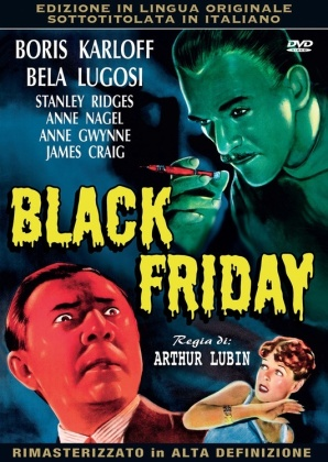 Black Friday (1940) (Original Movies Collection, HD-Remastered, s/w)