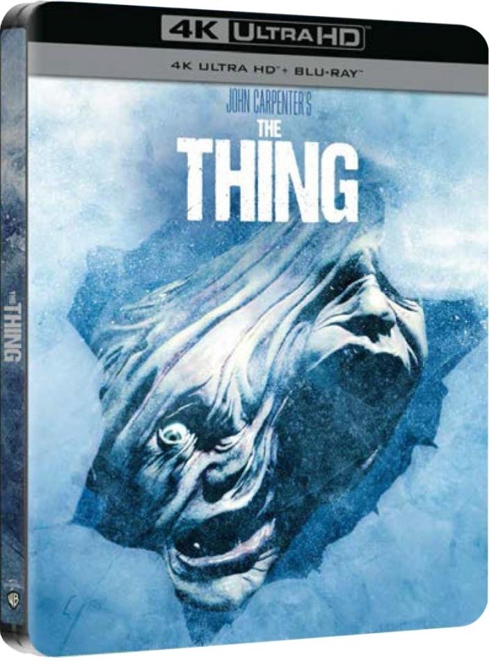 The Thing - La cosa (1982) (Limited Edition, Steelbook, 4K Ultra HD + Blu-ray)