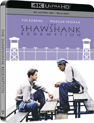 The Shawshank Redemption - Le ali della libertà (1995) (Limited Edition, Steelbook, 4K Ultra HD + Blu-ray)