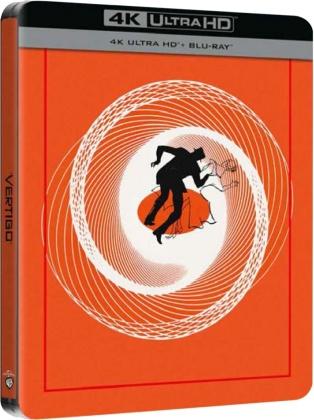La donna che visse due volte (1958) (Limited Edition, Steelbook, 4K Ultra HD + Blu-ray)