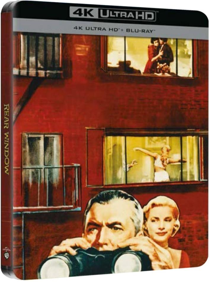 La finestra sul cortile - Rear Window (1954) (Limited Edition, Steelbook, 4K Ultra HD + Blu-ray)