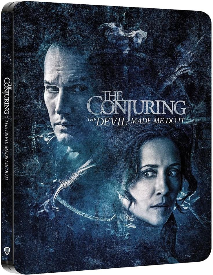 The Conjuring 3 - Per ordine del diavolo (2021) (Steelbook, 4K Ultra HD + Blu-ray)