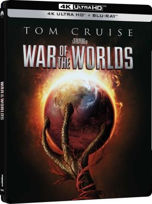La Guerra dei Mondi (2005) (Steelbook, 4K Ultra HD + Blu-ray)