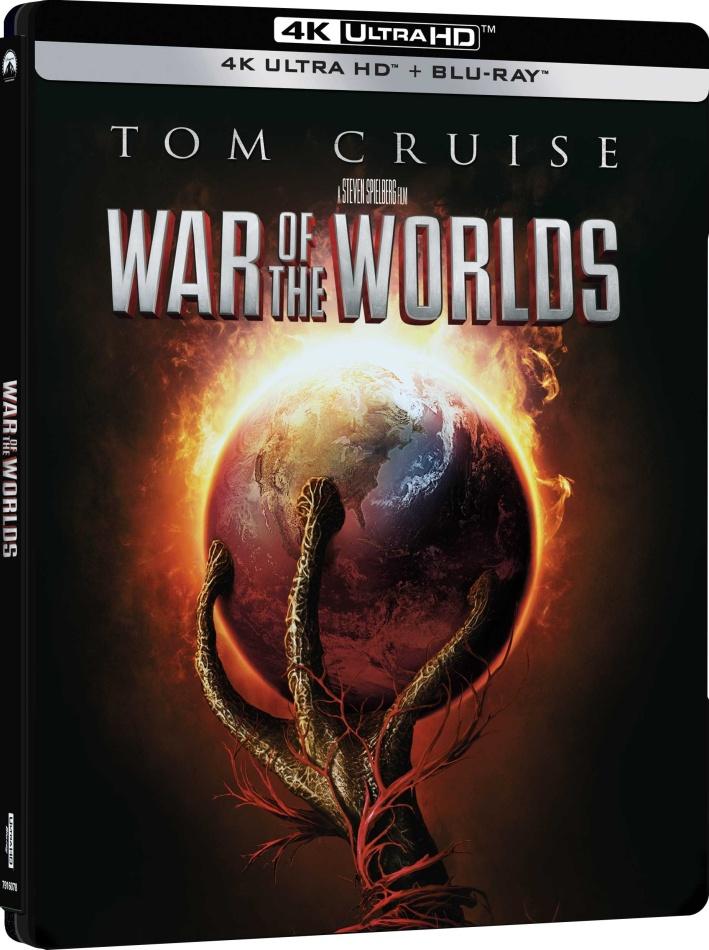War of the Worlds - La Guerra dei Mondi (2005) (Steelbook, 4K Ultra HD + Blu-ray)