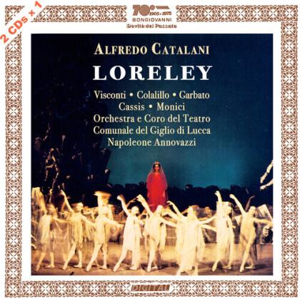 Alfredo Catalani (1854-1983), Napoleone Annovazzi & Orchestra del Teatro Communale del Giglio di Lucca - Loreley (2 CDs)