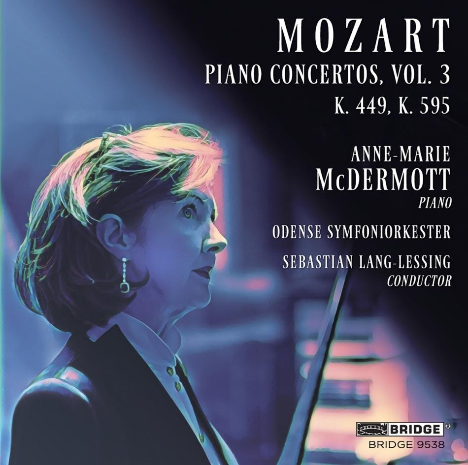 Wolfgang Amadeus Mozart (1756-1791), Sebastian Lang-Lessing, Anne-Marie McDermott & Odense Symfoniorkester - Piano Concertos 3