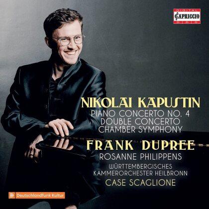 Nikolai Kapustin (*1937), Case Scaglione, Frank Dupree & Württembergisches Kammerorchester Heilbronn - Orchestral Works