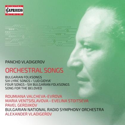 Pancho Vladigerov (1899-1978), Alexander Vladigerov, Roumiana Valcheva-Evrova, Maria Ventsislavova, Evelina Stoitseva, … - Orchestral Songs (2 CDs)