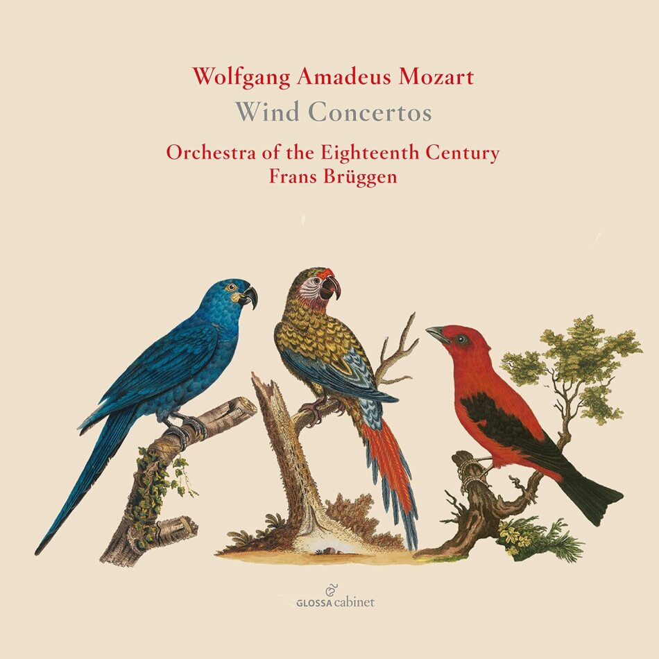 Wolfgang Amadeus Mozart (1756-1791), Frans Brüggen, Kenneth Montgomery, Frank De Bruine, Eric Hoeprich, … - Wind Concertos