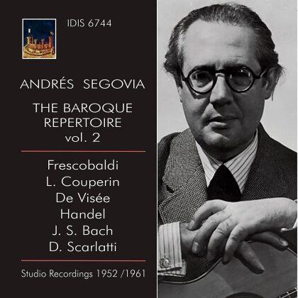 Andrés Segovia - Baroque Repertoire 2 - Studio Recordings 1952/1961