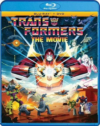 The Transformers: The Movie (1986) (35th Anniversary Edition, Blu-ray + DVD)