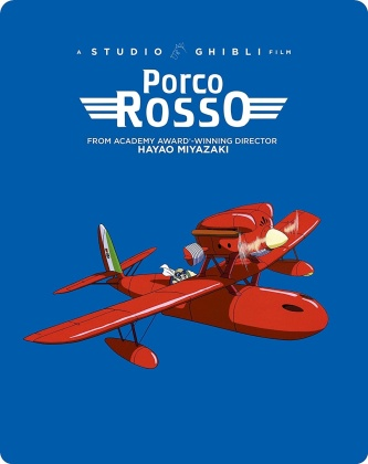 Porco Rosso (1992) (Limited Edition, Steelbook, Blu-ray + DVD)