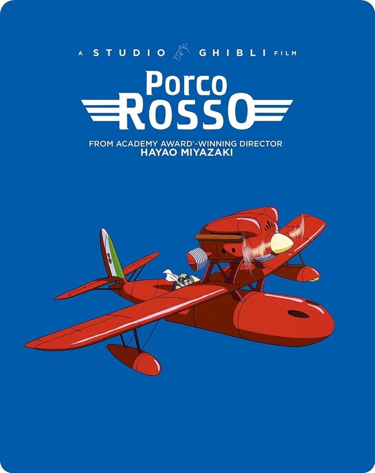 Porco Rosso (1992) (Edizione Limitata, Steelbook, Blu-ray + DVD)