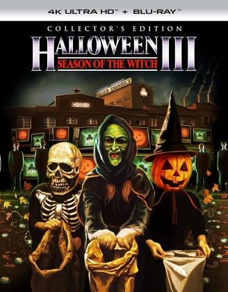 Halloween 3 (1982) (Collector's Edition, 4K Ultra HD + Blu-ray)