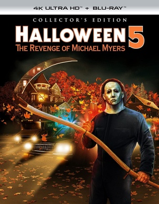 Halloween 5 (1989) (Collector's Edition, 4K Ultra HD + Blu-ray)