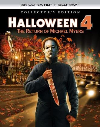 Halloween 4 (1988) (Collector's Edition, 4K Ultra HD + Blu-ray)