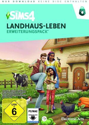 Die Sims 4 - Addon Landhausleben - (Code in a Box) (German Edition)