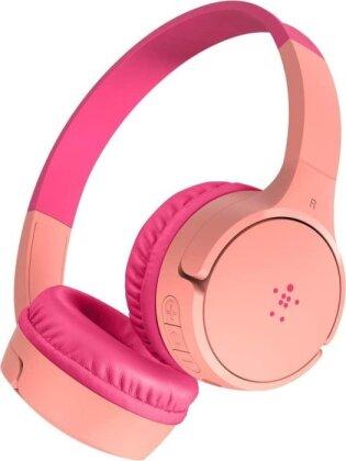 Belkin SoundForm Mini - On-Ear Headphones for Kids - pink