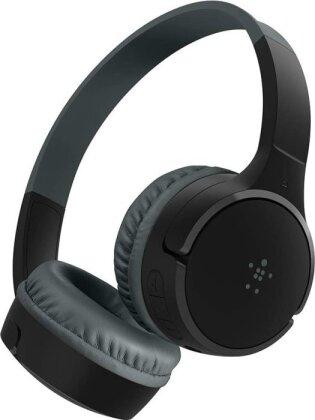 Belkin SoundForm Mini - On-Ear Headphones for Kids - black