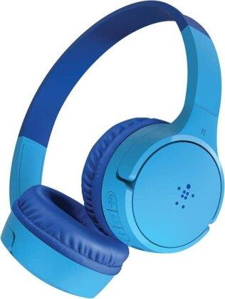 Belkin SoundForm Mini - On-Ear Headphones for Kids - blue