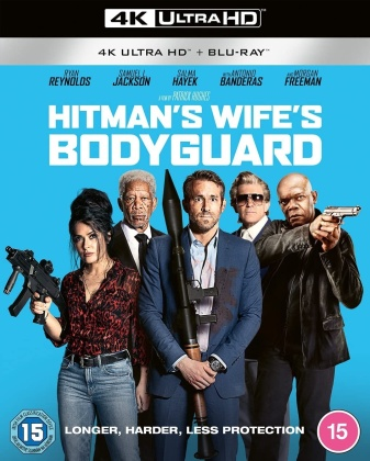 Hitman's Wife's Bodyguard (2021) (4K Ultra HD + Blu-ray)