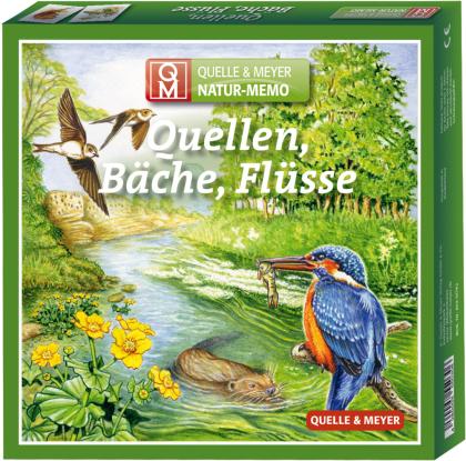 "Natur-Memo ""Quellen, Bäche - Flüsse"""