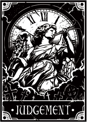 Deadly Tarot: Judgement - Mini Poster