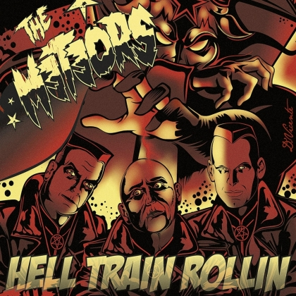 The Meteors - Hell Train Rollin (2021 Reissue, LP)