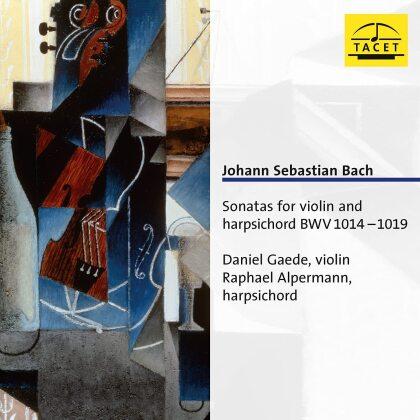 Johann Sebastian Bach (1685-1750), Daniel Gaede & Raphael Alpermann - Sonatas For Violin & Harpsicho (2 CDs)