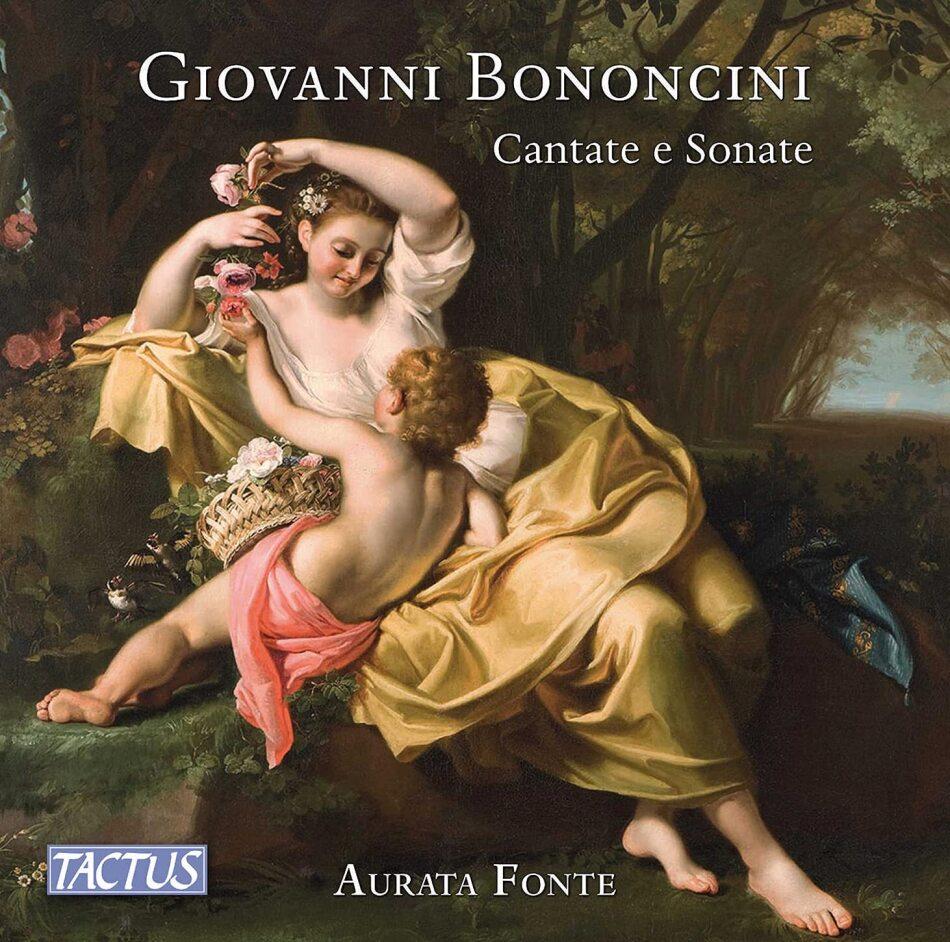 Aurata Fonte, Giovanni Maria Bononcini (1670-1747), Miho Kamiya, Perikli Pite & Valeria Montanari - Cantate E Sonate