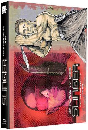 Slinger (1989) (Cover B, + Bonusfilm, Limited Edition, Mediabook, Blu-ray + DVD)