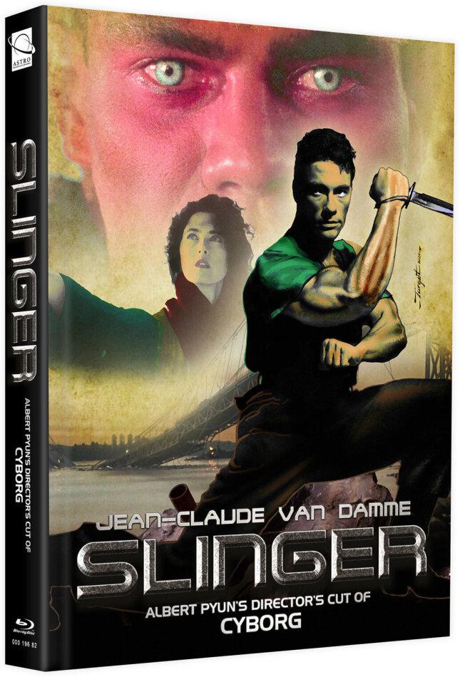Slinger (1989) (Cover E, + Bonusfilm, Limited Edition, Mediabook, Blu-ray + DVD)