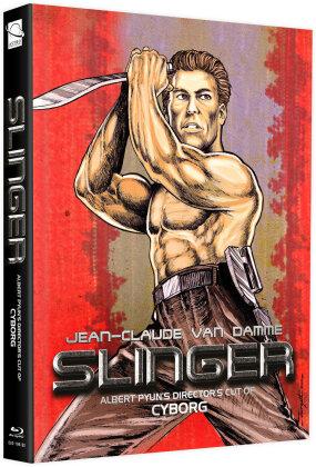 Slinger (1989) (Cover C, + Bonusfilm, Limited Edition, Mediabook, Blu-ray + DVD)