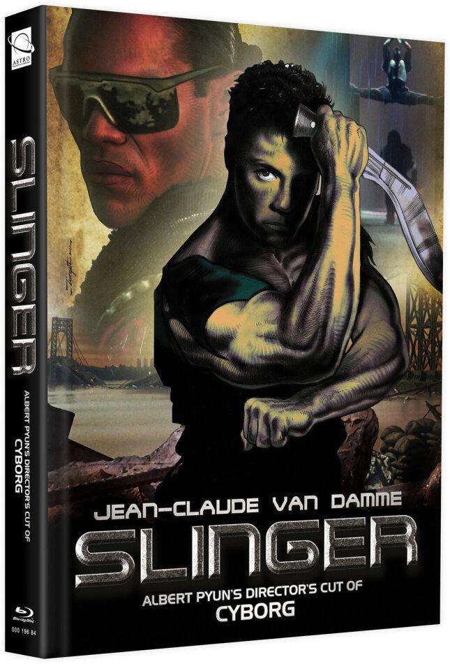 Slinger (1989) (Cover G, + Bonusfilm, Edizione Limitata, Mediabook, Blu-ray + DVD)