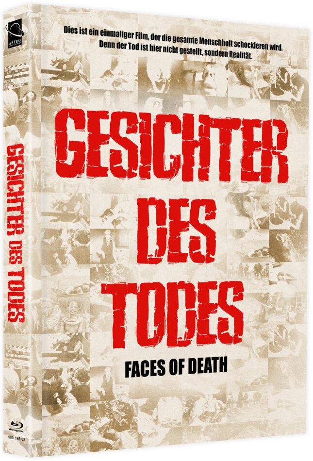 Gesichter des Todes (1978) (Cover B, + Bonusfilm, Edizione Limitata, Mediabook, Blu-ray + DVD)
